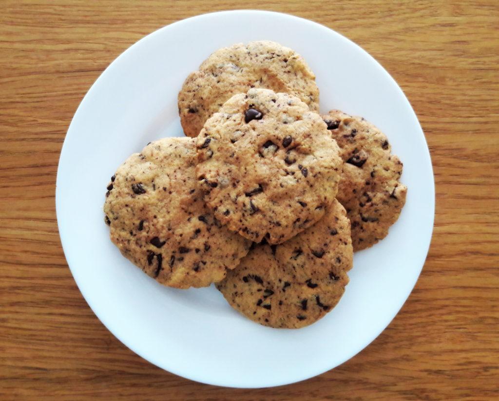 20190424 133433 1024x822 Kruche ciasteczka z czekoladą typu American cookies