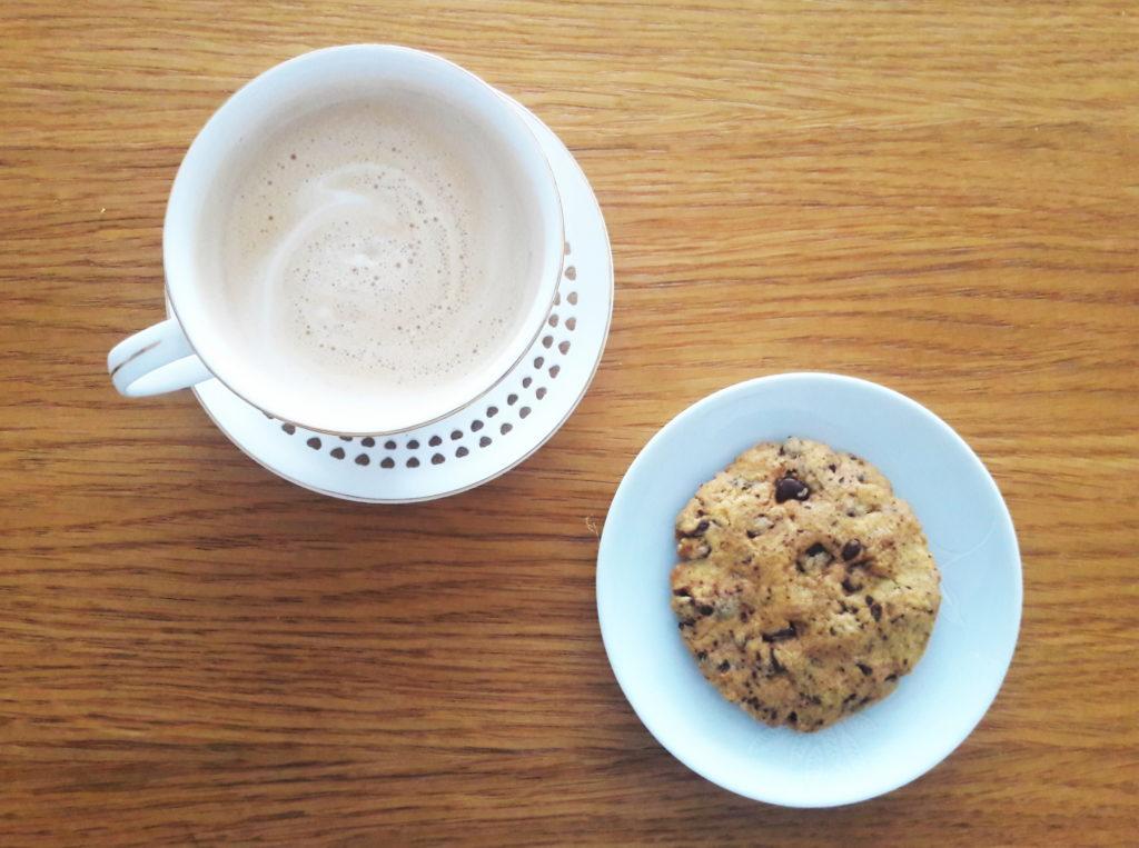 20190424 140601 1024x763 Kruche ciasteczka z czekoladą typu American cookies