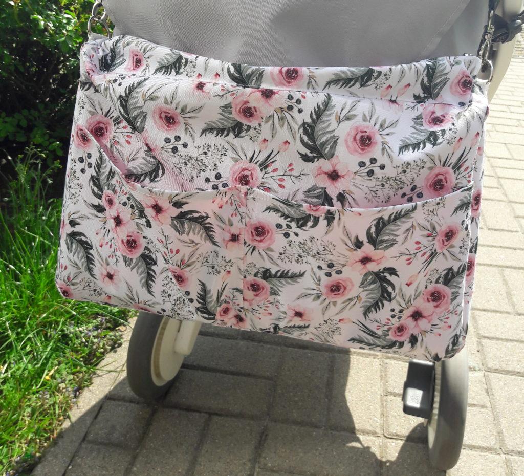 20190424 145213 1024x930 Komplet do wózka In Garden. Wkład, poduszka i torba