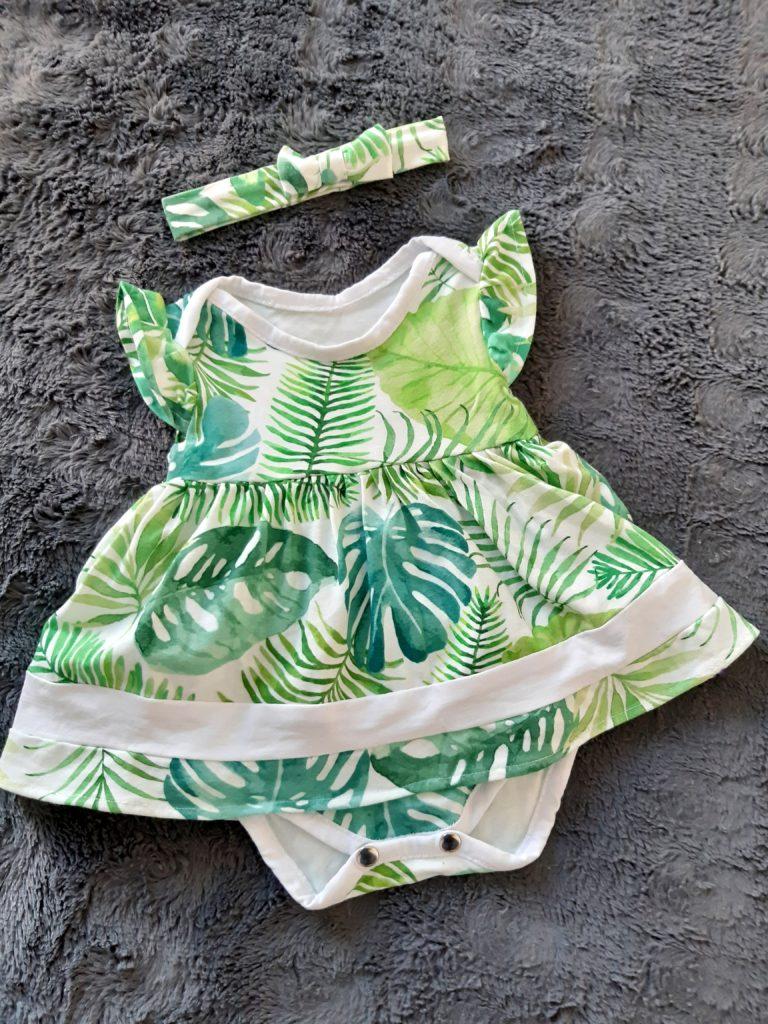 20190624 165602 768x1024 Body i sukienka w jednym   ubranko dla dziewczynki