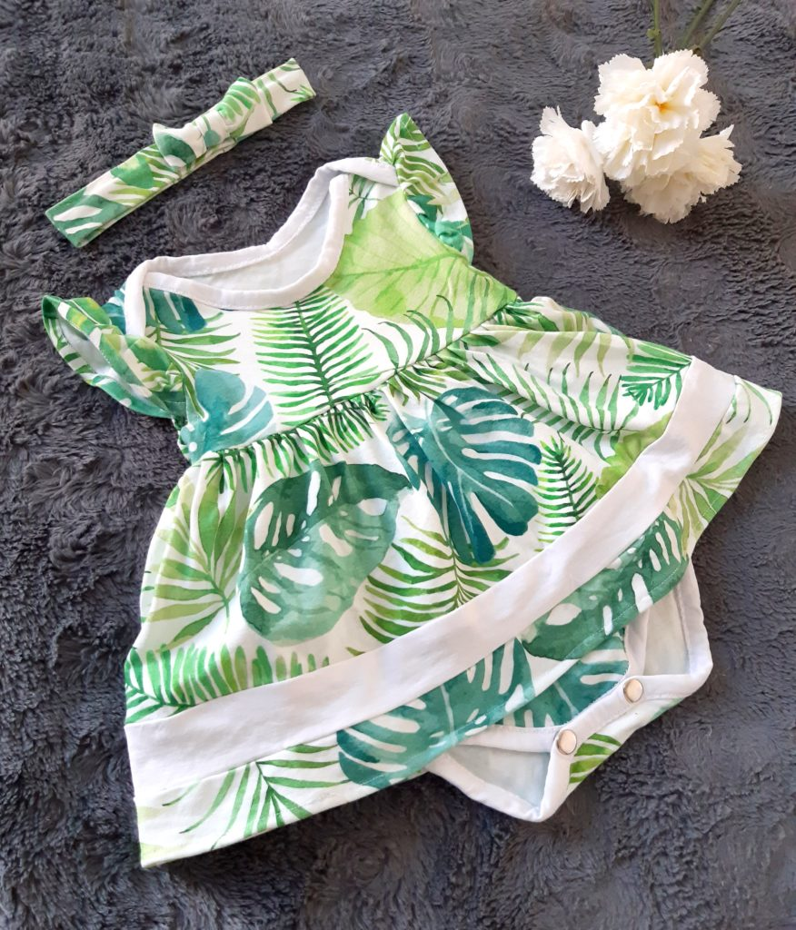 20190624 165713 876x1024 Body i sukienka w jednym   ubranko dla dziewczynki