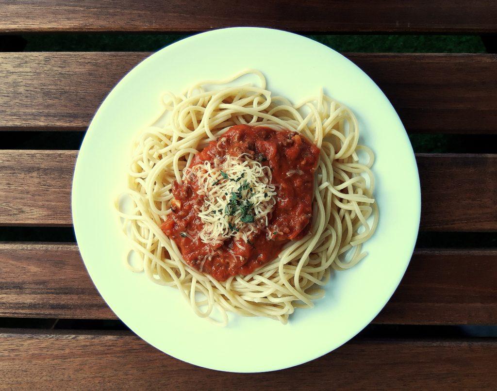 20190814 172412 1024x806 Domowe spaghetti z sosem bolognese. Przepis
