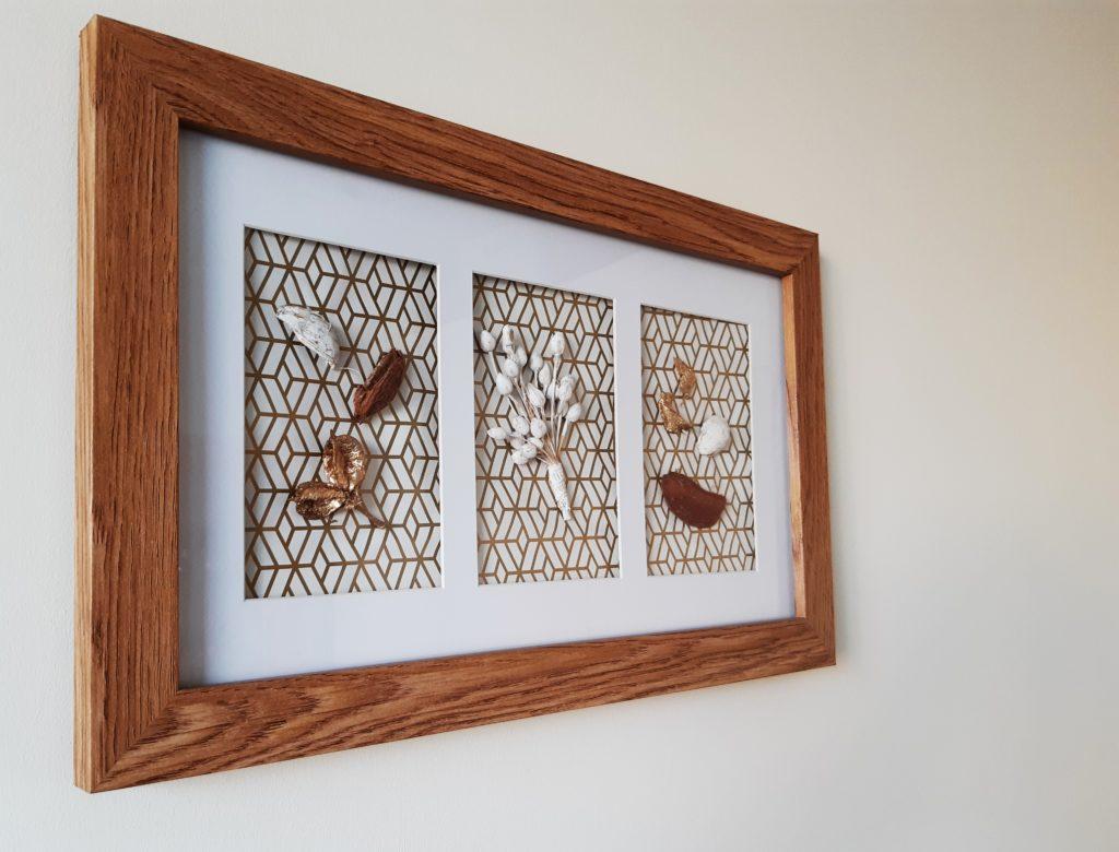 20190911 164341 1024x780 Jesienna dekoracja DIY z ramki na zdjęcie
