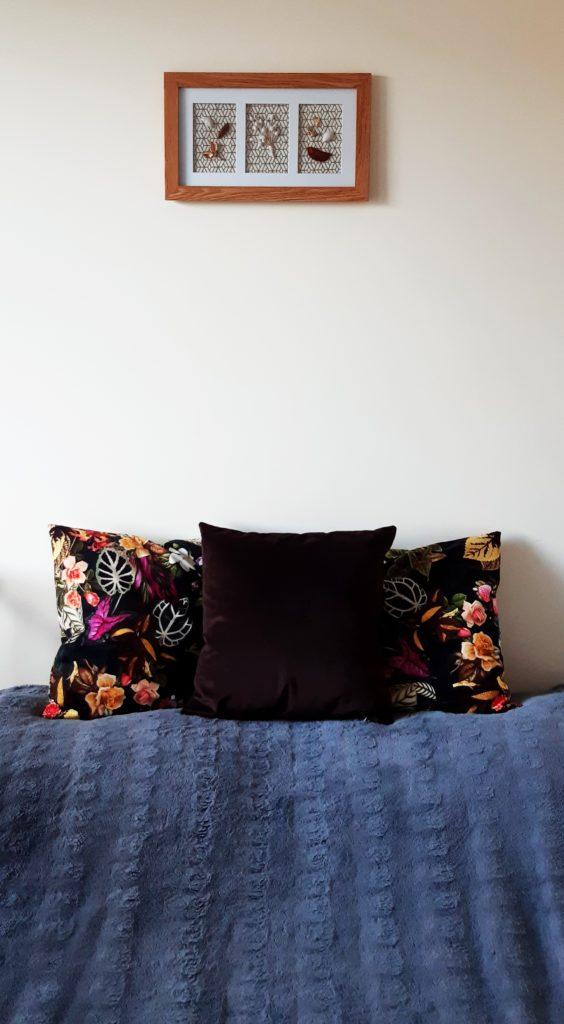 20190911 170858 564x1024 Jesienna dekoracja DIY z ramki na zdjęcie