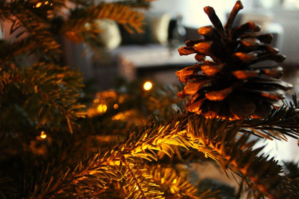 IMG 4834 1024x683 Świąteczny home decor    butelkowa zieleń i złoto