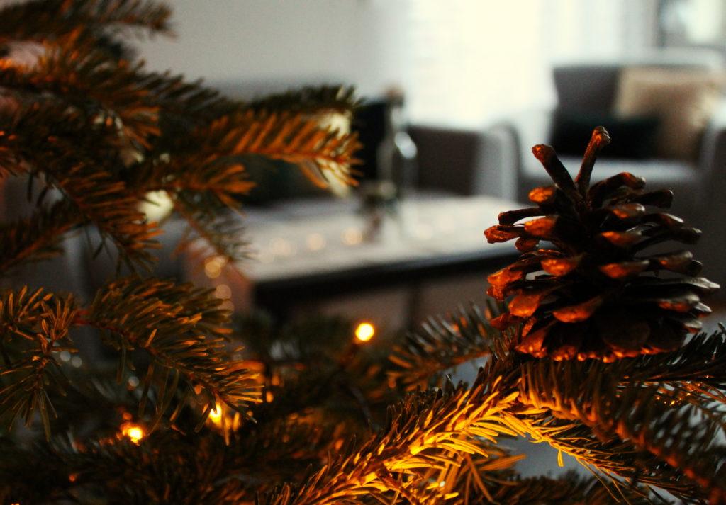 IMG 4836 1024x713 Świąteczny home decor    butelkowa zieleń i złoto