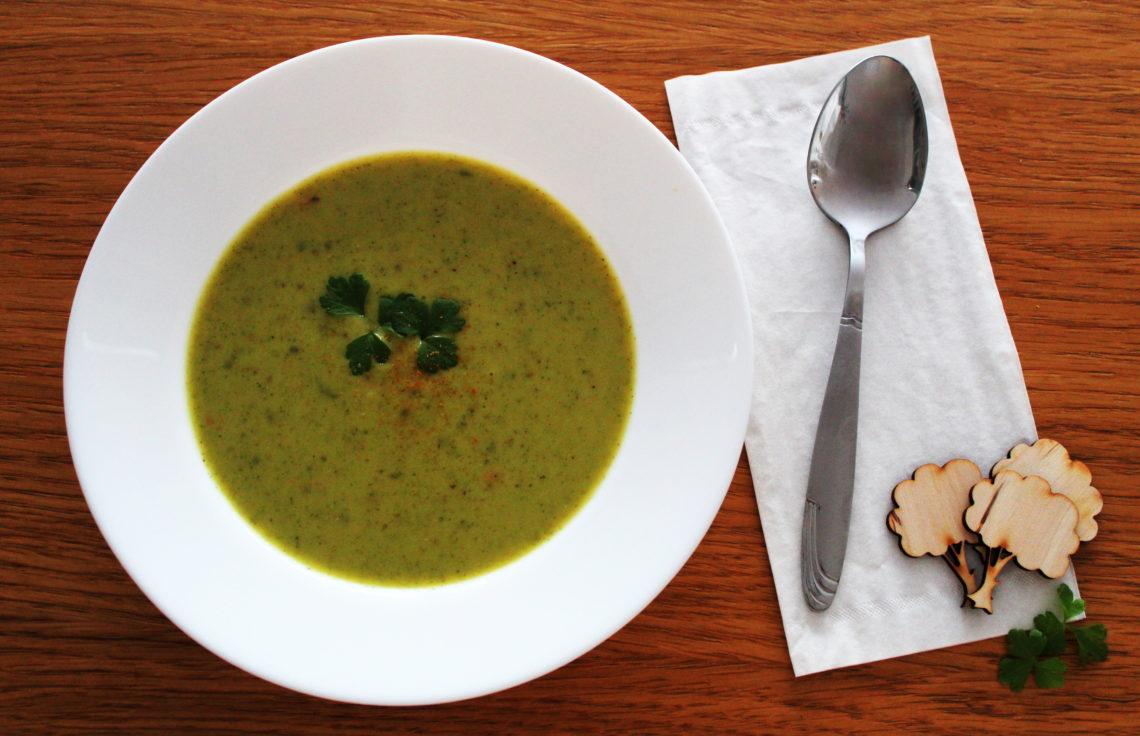 zupa brokułowa krem thermomix