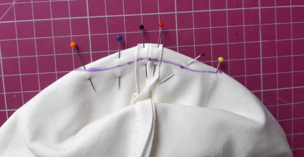 14 1024x530 Jak uszyć czapkę dla dziecka / niemowlęcia? Dwa rodzaje na kilka sposobów.
