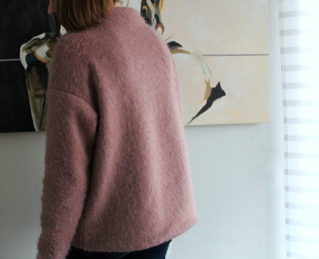IMG 5013 1024x829 Z serii szycie krok po kroku   wełniany sweter typu oversize