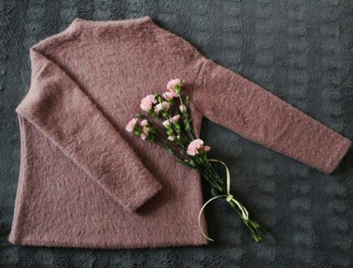 szycie wełniany sweter oversize