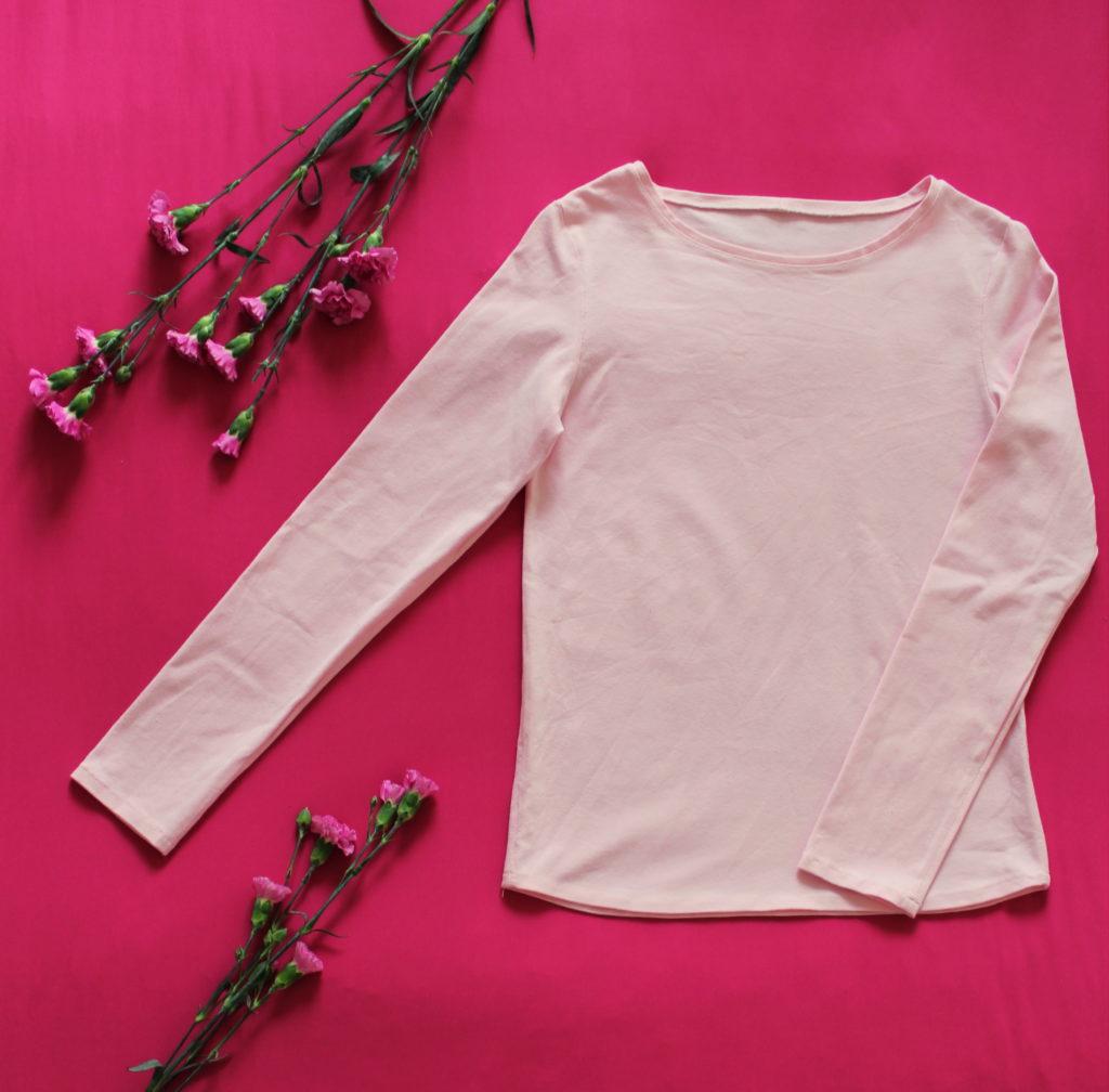 IMG 5207 1024x1008 Klasyczna piżama z długim rękawem. Szycie zza kulis