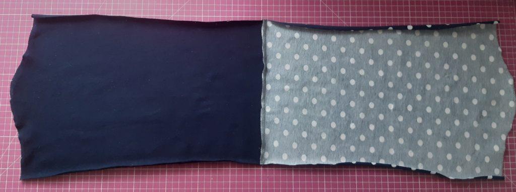 2 4573x1704 1 1024x382 Jak uszyć rękawy z materiałem wewnętrznym? Na przykładzie codziennej sukienki typu oversize   wykrój własny.