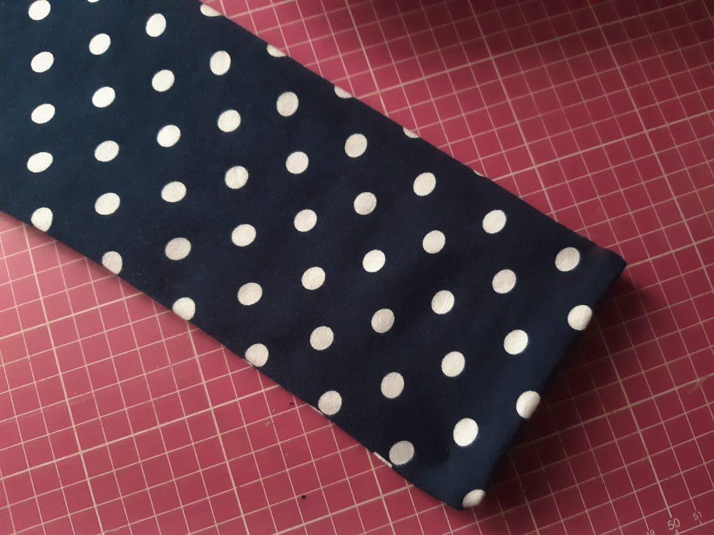 45 4608x3456 1 1024x768 Jak uszyć rękawy z materiałem wewnętrznym? Na przykładzie codziennej sukienki typu oversize   wykrój własny.