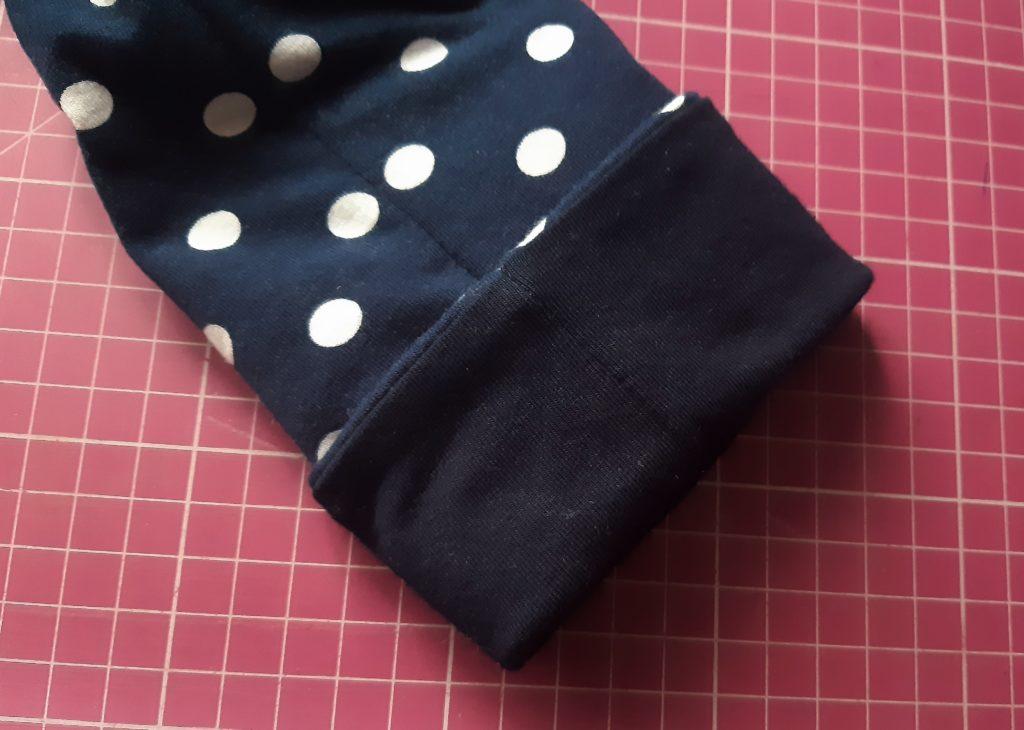 46 4085x2913 1 1024x730 Jak uszyć rękawy z materiałem wewnętrznym? Na przykładzie codziennej sukienki typu oversize   wykrój własny.