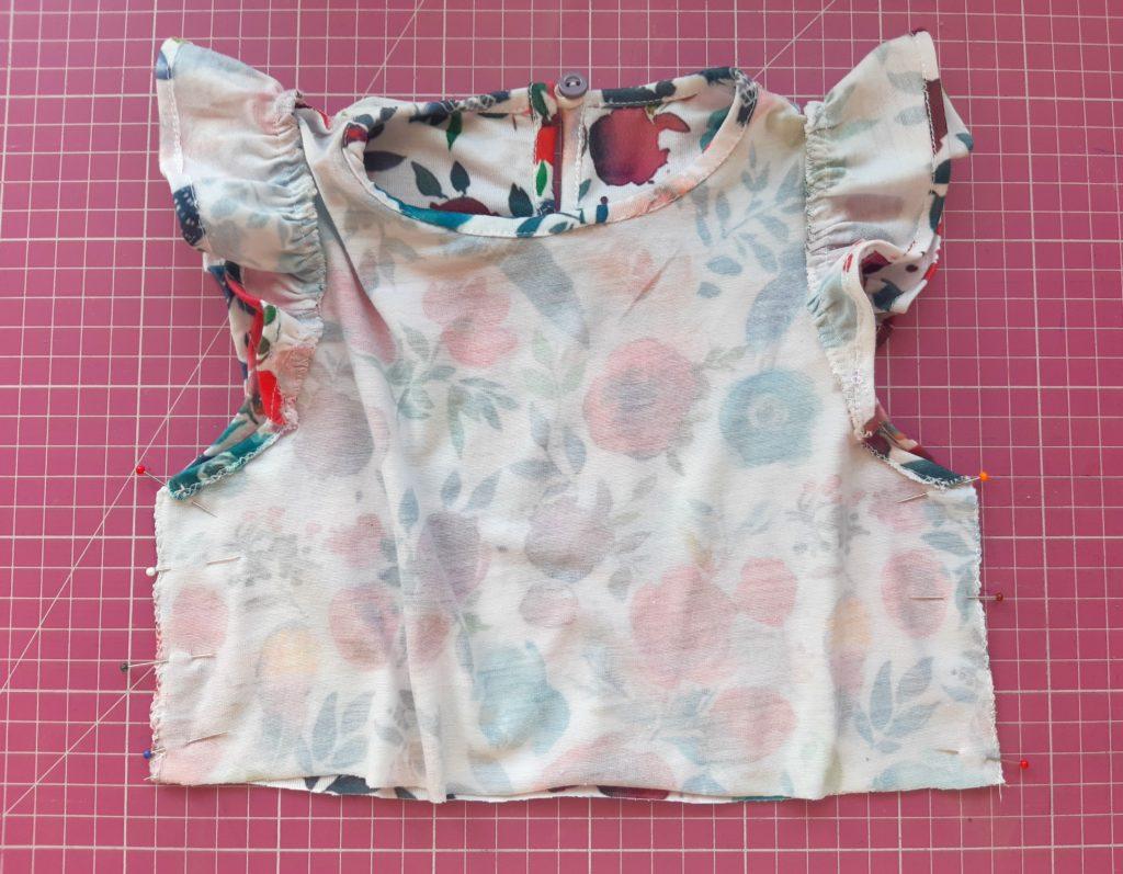 20200717 165431 1024x797 Jak uszyć prostą sukienkę dla dziewczynki   TUTORIAL