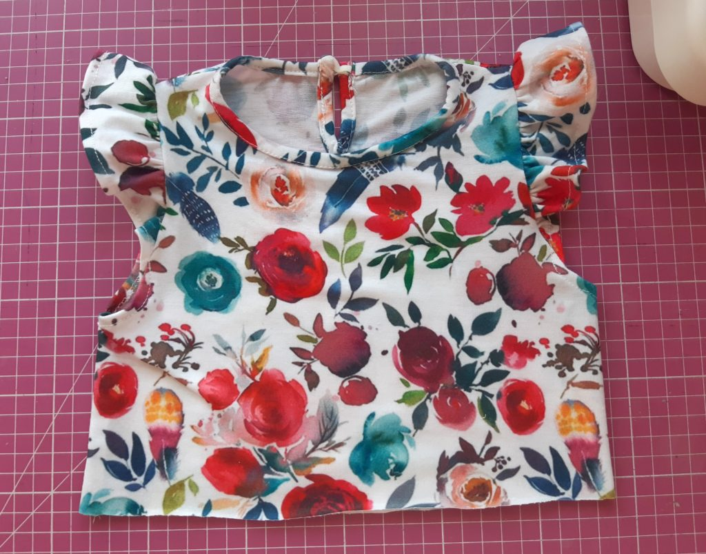 20200717 170039 1024x803 Jak uszyć prostą sukienkę dla dziewczynki   TUTORIAL
