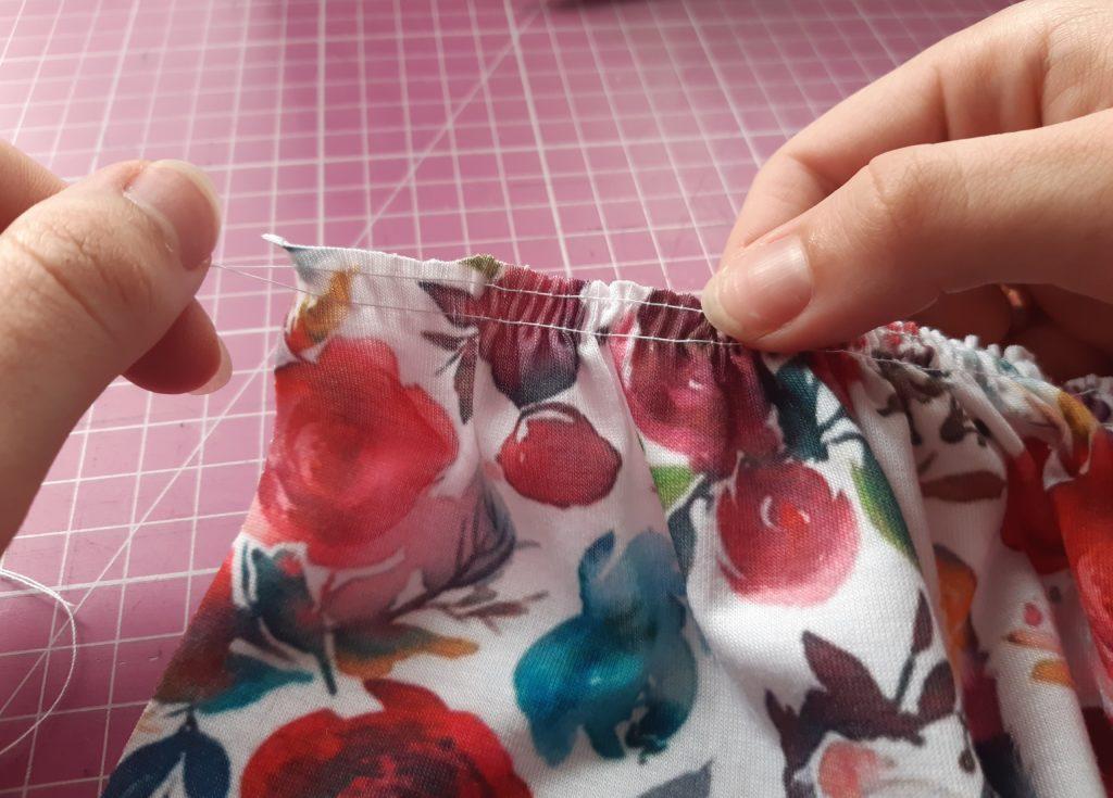9 1024x735 Jak uszyć prostą sukienkę dla dziewczynki   TUTORIAL