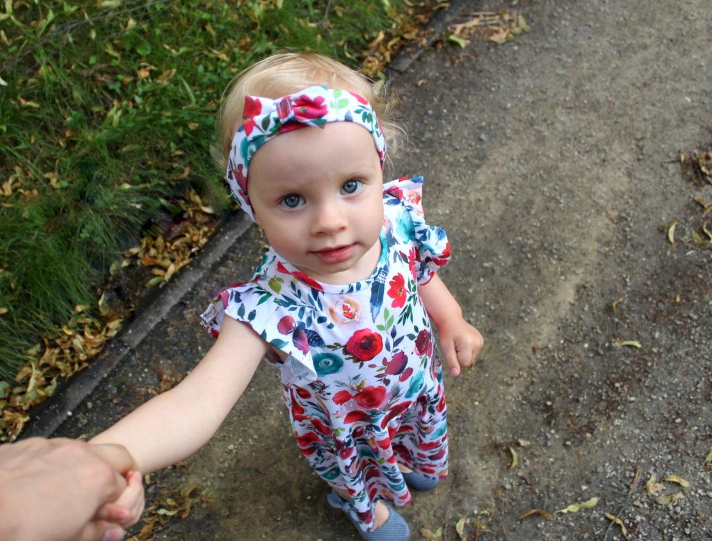 IMG 8159 1024x779 Jak uszyć prostą sukienkę dla dziewczynki   TUTORIAL
