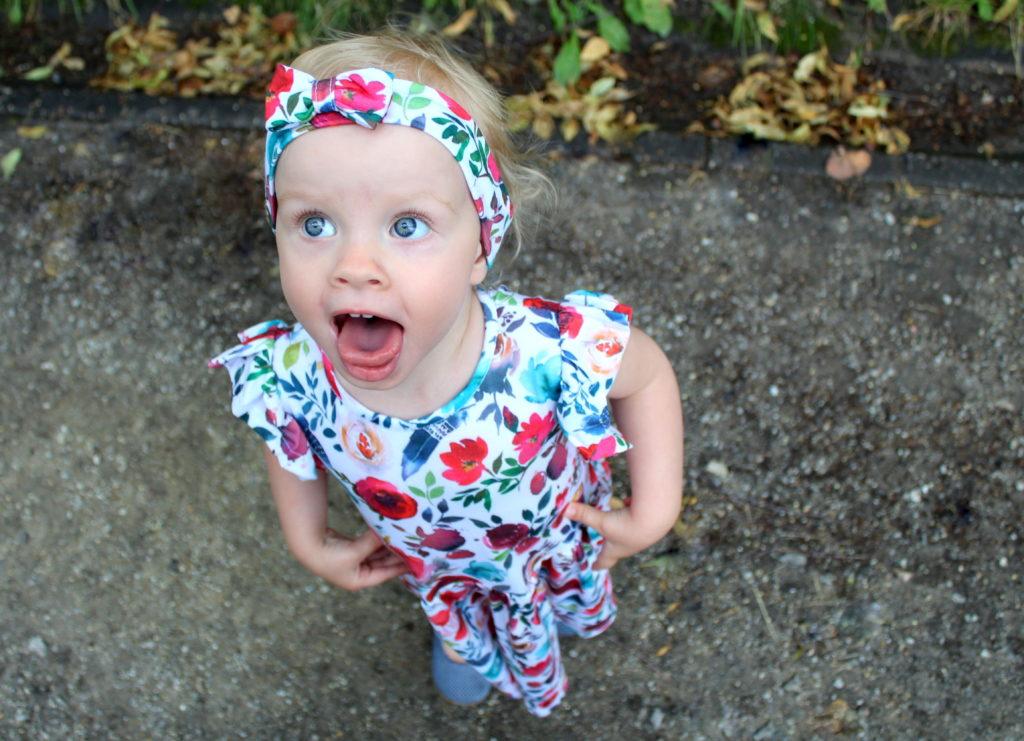IMG 8170 1024x741 Jak uszyć prostą sukienkę dla dziewczynki   TUTORIAL